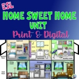 ESL EFL Home Sweet Home Full Unit for English Language Learners