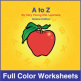 ESL A to Z-Full Color Textbook