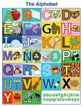 ESL Alphabet Charts