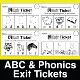ESL ABC Exit Tickets