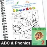 ESL ABC & Phonics, Book 1-2