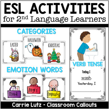ESL ACTIVITIES for English Language Learners