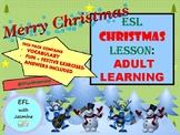 ESL ADULT INTERMEDIATE CHRISTMAS LESSON