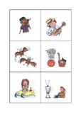 ESL Actions Flash Cards