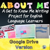 ESL Activities About Me Google Drive Version Distance Learning