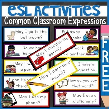 ESL Activities: Classroom Expressions