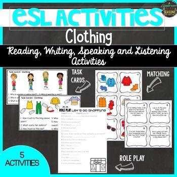 ESL Activities: Clothing