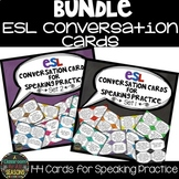 ESL Activities: Conversation Cards Bundle