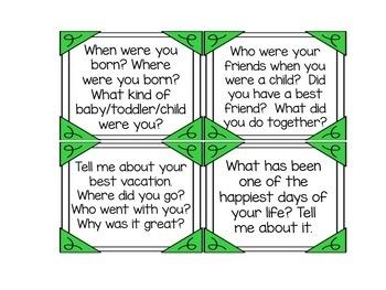 ESL Activities: Conversation Cards Bundle