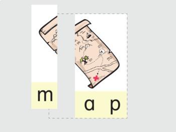 CVC Word Puzzles 80 Word Set Digital