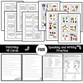 ESL Activities: Food Unit