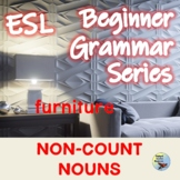 ESL Activities:  Nouns 3: Noncount (Uncountable Nouns) Packet  EFL ELL