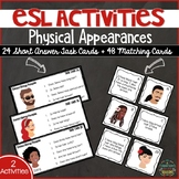 ESL Activities: Physical Appearances & Describing People