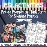 ESL Conversation Activities: Picture Prompts for Speaking Practice (SET 1)