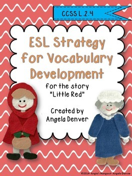 ESL Activity for Vocabulary Development for Little Red
