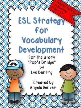 ESL Activity for Vocabulary Development for Pop's Bridge