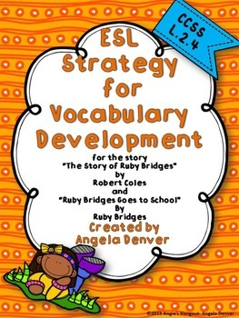 ESL Activity for Vocabulary Development for Ruby Bridges