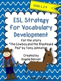 ESL Activity for Vocabulary Development for The Cowboy and
