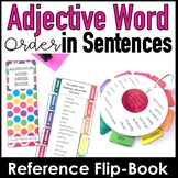 ESL - Adjective Sentence Order Reference Guide