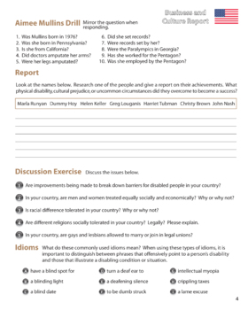 ESL Adult Readings & Exercises-Book 1-2