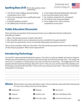 ESL Adult Readings & Exercises-Book 1-24