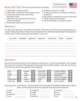 ESL Adult Readings & Exercises-Book 1-5
