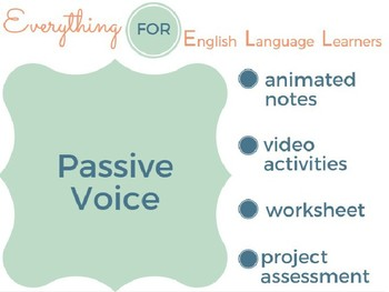 ESL Advanced: Passive Voice