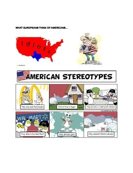ESL Advanced Thematic Lesson: Stereotypes