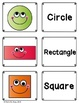 ESL All about 2D Shapes- Flashcards, Taskcard, Posters, Worksheets & Activities