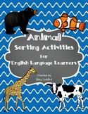 ESL Animal Vocabulary Sorts