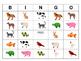 ESL Animals Bingo – The Animals in English