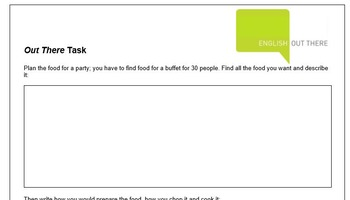 ESL B1 Lesson Plan and Worksheets - Cooking, food & drinks, recommending