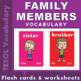 ESL BUNDLE 1 - FAMILY / ACTION VERBS / PRONOUNS