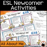 ESL Back to School Activities – All About Me
