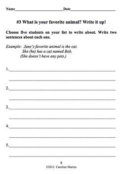 ESL Back to School Survey Bundle