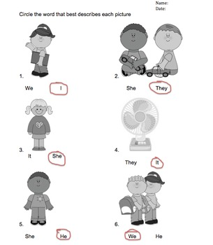 ESL & Basic Grammar Review Worksheet Packet