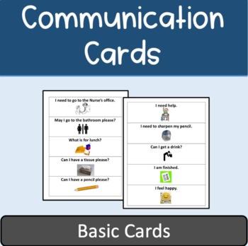 ESL Communication Cards