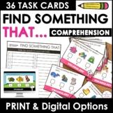 ESL Basic Vocabulary Task Cards: Animals, Food, Clothing,