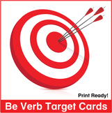 ESL Be-Verb Target Cards
