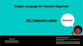 ESL Beginner Classroom Orientation