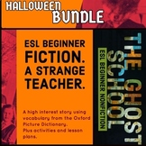 Halloween ESL Beginner Fiction / Non Fiction Bundle - Corr