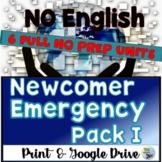 ESL Newcomers Activities Independent Work Packet 1
