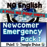 ESL Newcomers Activities ESL Beginners Pack Printable & Distance Learning
