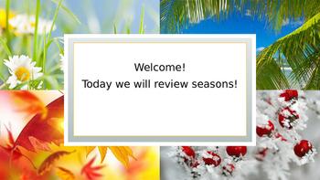 ESL Beginner Seasons Lesson