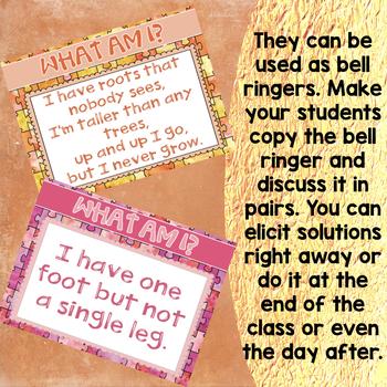 Bell Ringers Brain Teasers Medium Riddles for Teens Volume 3
