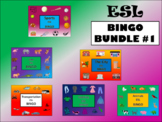 ESL Bingo Bundle #1 – 6 ESL Vocabulary Bingo Games