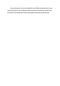 ESL Biography Unit (Level 3)