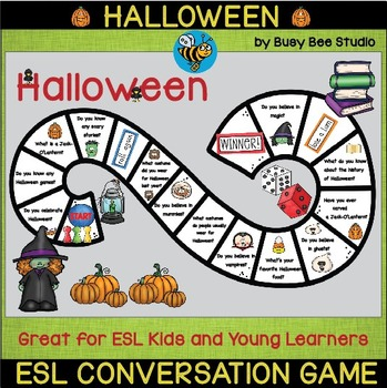 ESL Game: Let's talk about Halloween