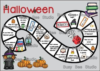 ESL Game: Let's talk about Halloween