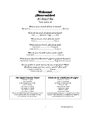 ESL Booklet for Spanish speaking immigrants and adult ed